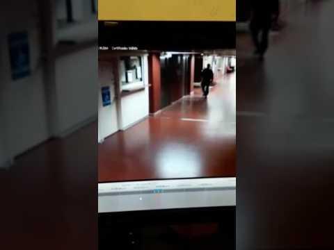 Famtasma con uns globo en el hospital garrahan, argentina 2017