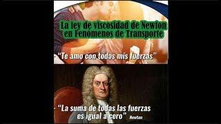 3. La ley de viscosidad de Newton