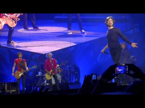 Midnight Rambler The Rolling Stones 14 on Fire Perth 1/11/2014