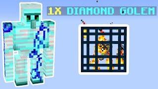 DIAMOND GOLEMS!? Dansk Skyblock #4