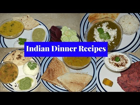 Monday To Friday Easy Dinner Recipes | Indian Dinner Recipes For Working Moms | Real Homemaking