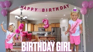 👸 THREE YEAR OLD TODDLER PLANS HER OWN BIRTHDAY | MOM AND DAD CAN'T SAY NO 🎉
