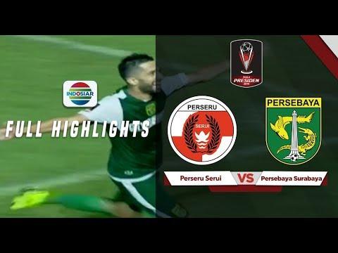 Perseru Serui (2) vs (3) Persebaya Surabaya - Full Highlights | Piala presiden 2019