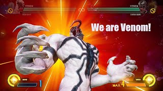 Marvel Vs Capcom Infinite - Anti Venom Vs Venom
