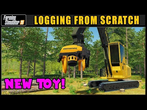 Starting New On Grizzly Mountain! 🌲 LFS #53 🌲 ✔ Farming Simulator 2019