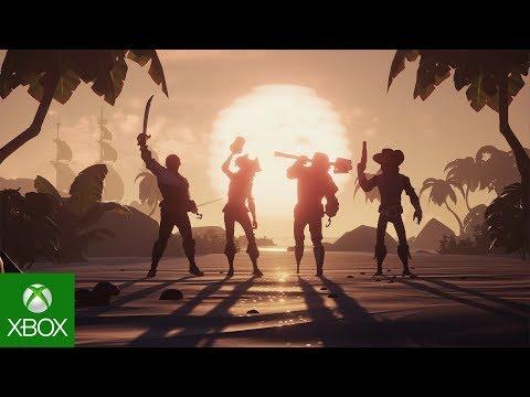 Игроки Sea of Thieves получат 3 бесплатных ключа для приглашения друзей в игру