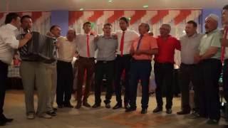 Мужской хор на башкирской свадьбе