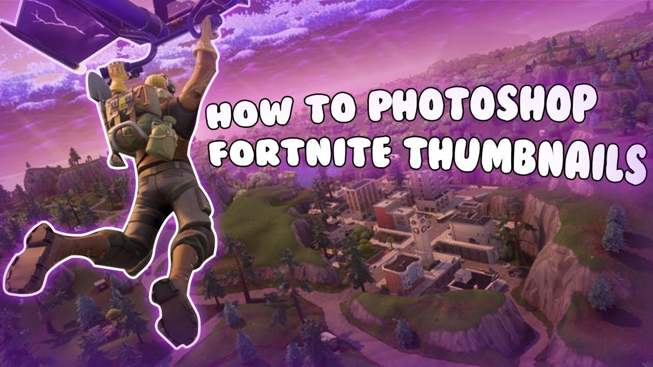 how to create a fortnite thumbnail