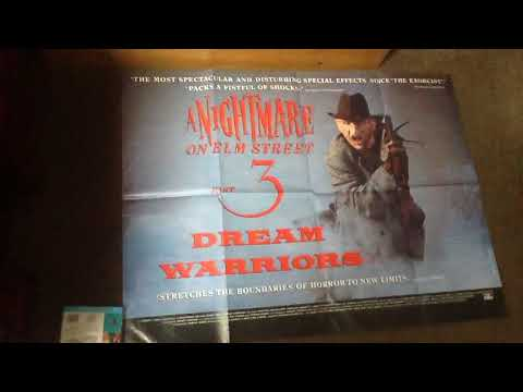 A Nightmare On Elm Street film posters