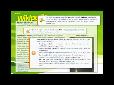 Publish With Wikipedia - Look at Wikipedia in the Classroom - Online Publishing
