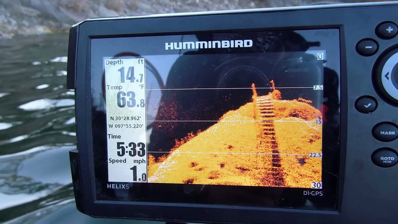 humminbird helix di shot - youtube, Fish Finder