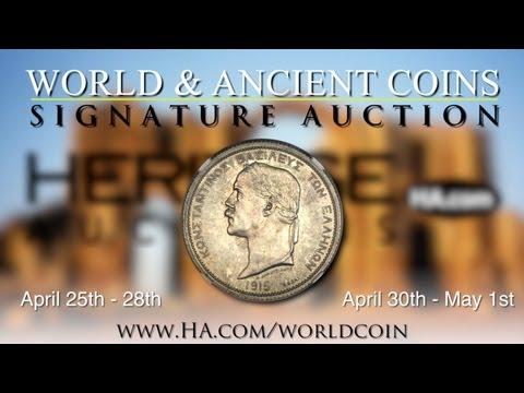 Heritage Auctions (HA.com) -- 2012 April 26-30 World & Ancient Coins CICF Signature Auction - #3019