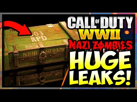 Call of Duty WW2 ZOMBIES LEAKED SUPPLY DROPS, CLASSES, & CONSUMABLES! (COD World War 2 ZOMBIES LEAK)