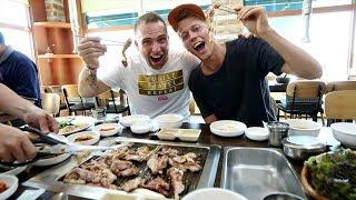 Korean BBQ DUCK + DMZ Spy Tour at the South Korea - North Korea Border | Paju, South Korea