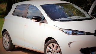 Renault Zoé 100 % électrique 1 partie la voiture