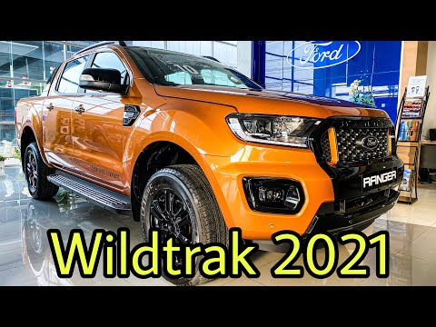 รีวิว NEW!! Ford Wildtrak 2021 รุ่นใหม่ล่าสุด มาพร้อมฝาปิดกระบะท้ายไฟฟ้า By M&N FORD