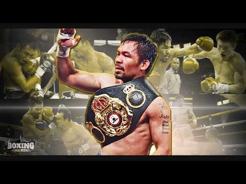 The Legacy of Manny Pacquiao   Feature   BOXING WORLD WEEKLY