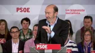 10-03-2012 Rubalcaba pide a Rajoy que dialogue con sindicatos para evitar la huelga