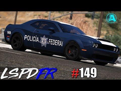 GTA V LSPDFR #149 POLICÍA FEDERAL - CHALLENGER SRT DEMON [SUPER AUTO]    TheAxelGamer