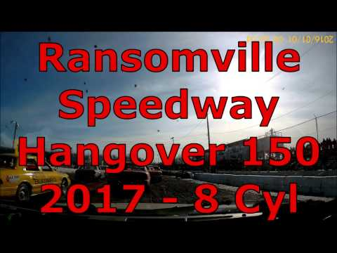 Ransomville Speedway Hangover 150 - 2017 - 8 Cyl