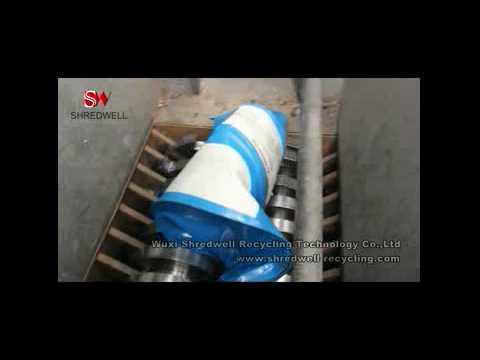 High Quality Automatic Oil Drum/Scrap Metal Shredder Line