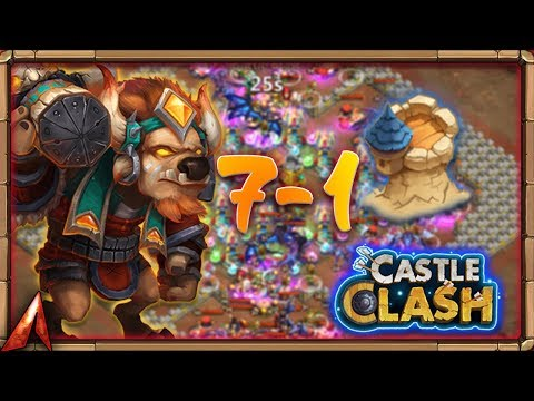 Insane Dungeon 7-1! FlameSeeker Back!? Castle Clash