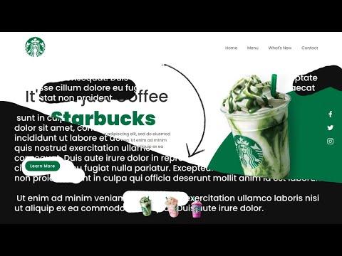 Creative Website Banner Effects using CSS & Vanilla JavaScript