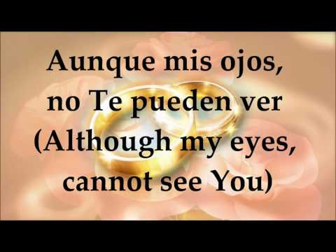 Jesús Adrián Romero ft. Marcela Gándara - Tú Estás Aquí - Letra/English Translation