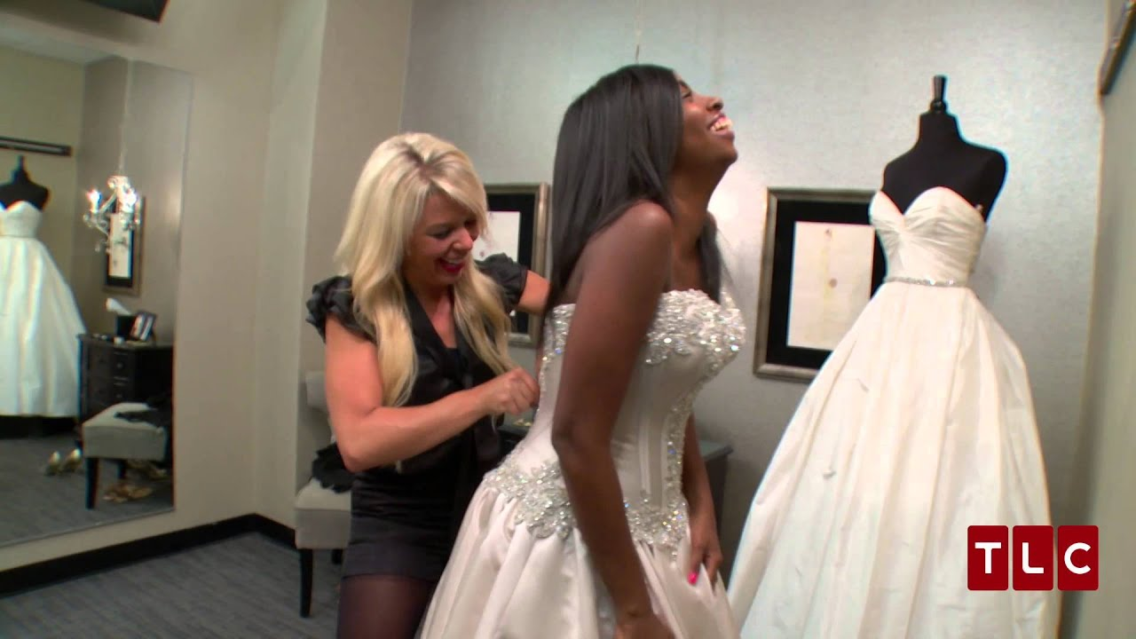 Same dress 2 brides on say yes to the dress atlanta youtube ombrellifo Choice Image