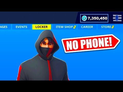 HOW TO GET IKONIK SKIN WITHOUT GALAXY S10 IN FORTNITE!