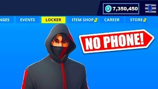 HOW TO GET Iconic SKIN WITHOUT GALAXY S10 IN FORTNITE!