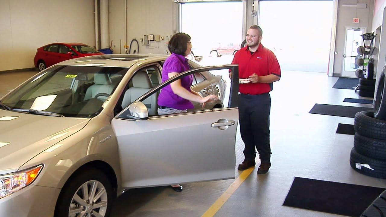 Auto repair near eau claire wi markquart toyota service for Markquart motors eau claire wisconsin