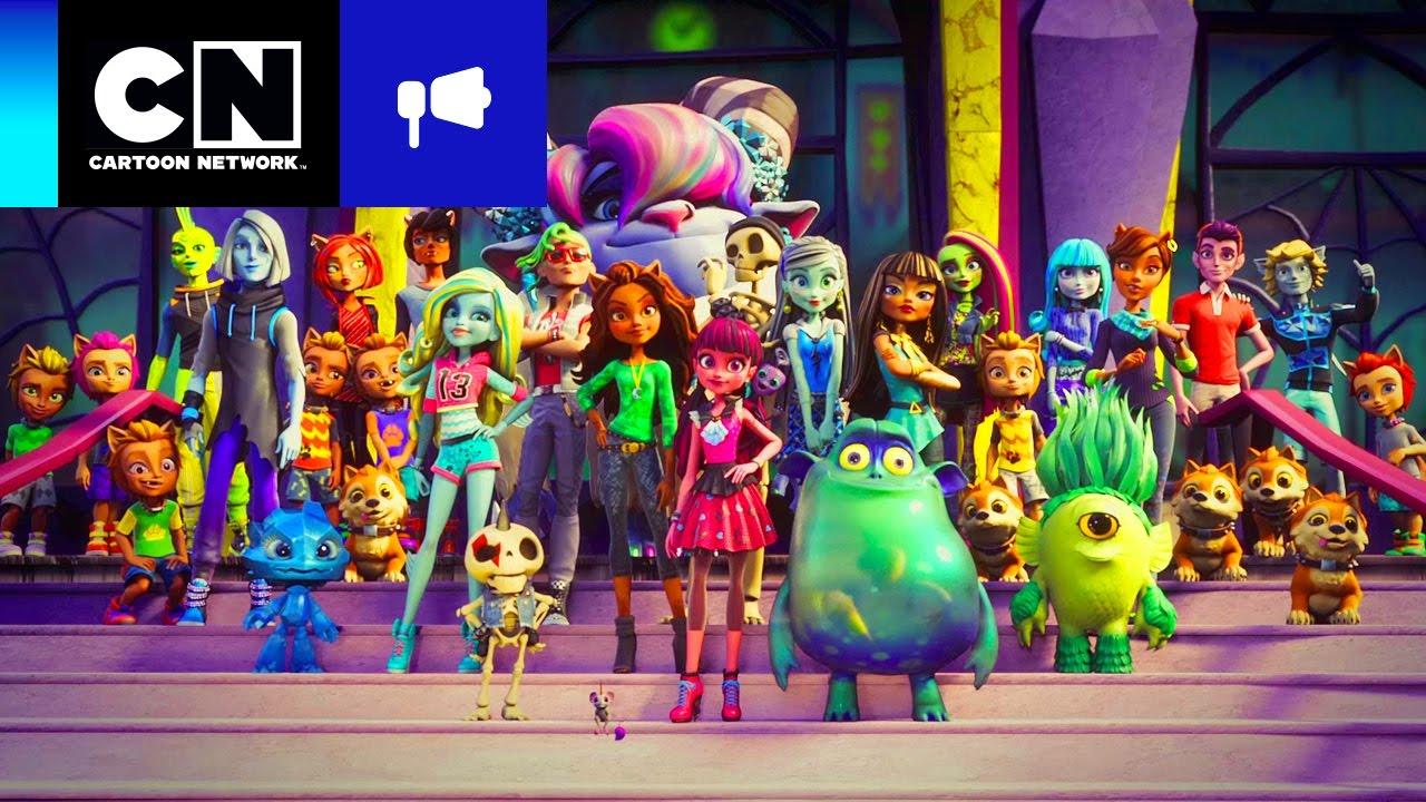 Sneak Peek Bienvenidos A Monster High Cartoon Network Youtube