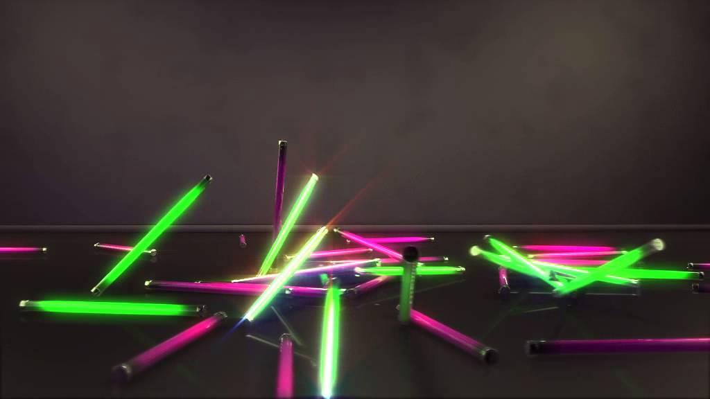 neon lights animation test
