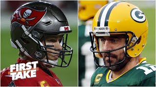 Tom Brady vs. Aaron Rodgers: Who are you taking with the game on the line? | First Take