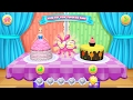 Wedding Cake Cooking Game★Best Game For Little Girls★Disney Princess Games Cake Compilation