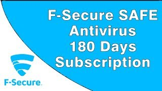 F-Secure SAFE Antivirus Free 6 Months Subscription