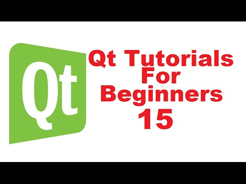Qt Tutorials For Beginners 15 - Qt Stylesheets and using HTML