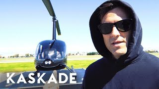 Kaskades Helicopter Ride From La To... @ www.OfficialVideos.Net