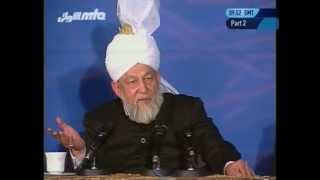Question and Answer Session (12 May 1996, part 2) with Hadhrat Mirza Tahir Ahmad