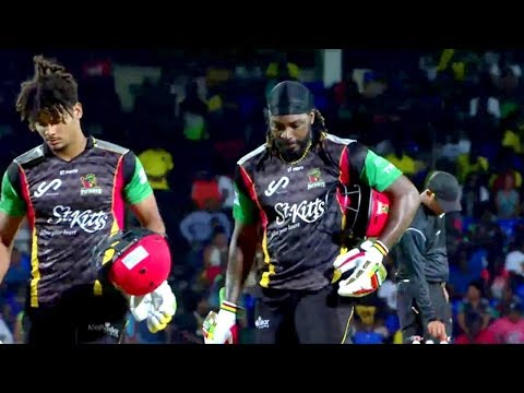 Nevis Patriots vs Trinbago Knight Riders CPL T20 2017