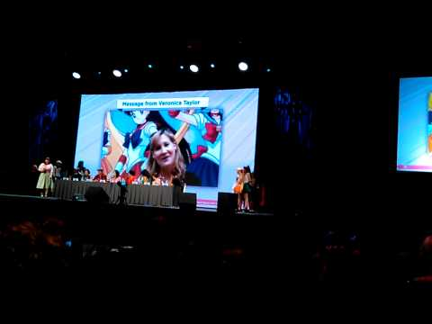 Veronica Taylor sends a message to Anime Expo 2015.