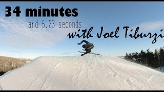 Electric Snail 31: 34 minutes and 5.23 seconds at Spirit Mountain With Joel Tiburzi