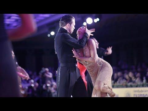 Andrey Kiselev - Anastasia Kiseleva, RUS | 2019 WDC European Pro Latin - SF Rumba