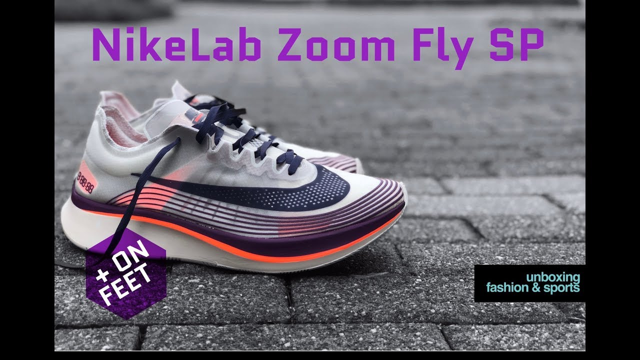 Nike NIKELAB Zoom Fly SP 'Dark Loden' | UNBOXING & ON FEET | running shoes  | 2018 | 4K