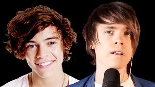 Repeat youtube video Story of My Life - One Direction (Official Music Video Acoustic Cover) - Roomie & Friends