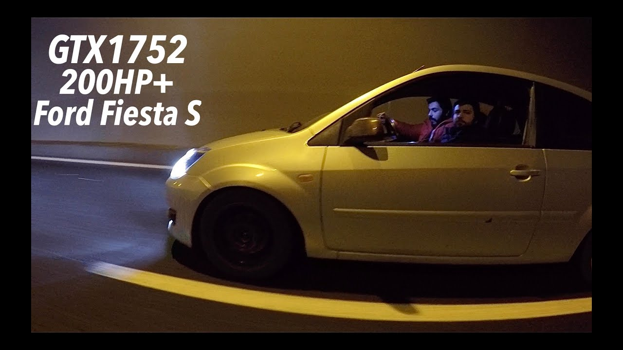 200+ HP Ford Fiesta 1.6tdci GTX1752