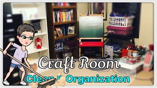 Clean With Me | Craft Room Organization