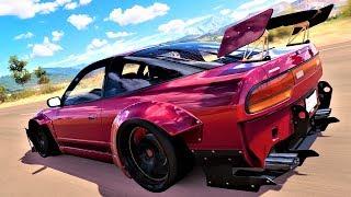 Forza Horizon 3 - Tunando um Nissan 240SX !