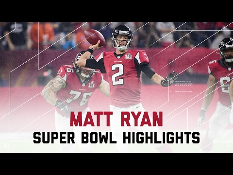 Matt Ryan Throws for 284 Yards & 2 TDs! | Patriots vs. Falcons | Super Bowl LI Highlights